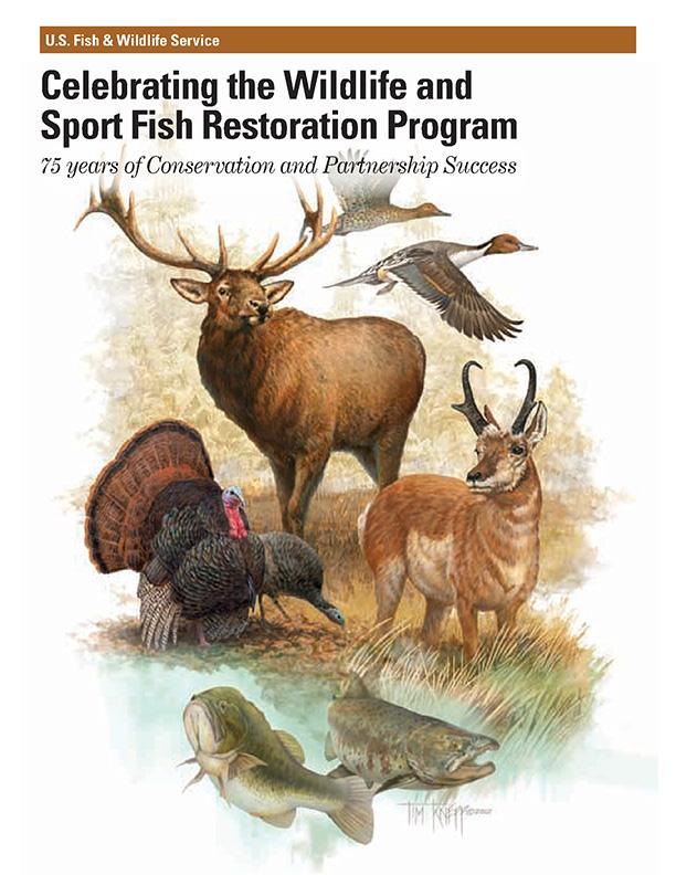 Cover image the Wildlife and Sport Fish Restoration Program brochure